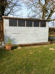 Shed Beach Hut Blue