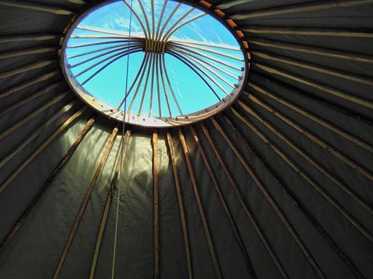 yurt sky view